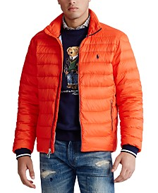 Polo Ralph Lauren Men's Packable Quilted Down Jacket