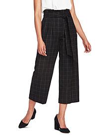 1.STATE Starstruck Tie-Waist Wide-Leg Paperbag Pants