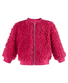Baby Girls Fleece Jacket, Created For Macy's