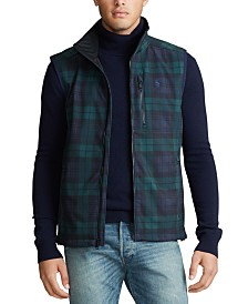 Polo Ralph Lauren Men's Plaid Barrier Vest