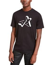 A|X Armani Exchange Men's Toppled Logo T-Shirt
