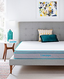 "Collection 8"" Alwayscool Memory Foam Hybrid Mattress, California King"
