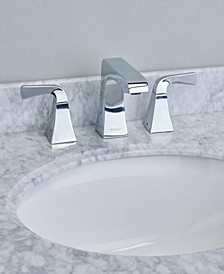 Butterfly Widespread 2 Handles Bathroom Faucet