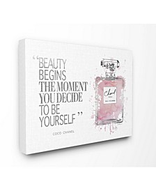Beauty Begins Fashion Perfume Art Collection