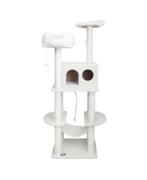 "Majestic Pet Products 76"" Casita Cat Furniture Scratcher Pet Activity Tree"