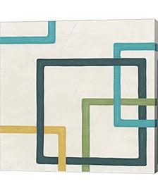 """Infinite Loop IV by June Erica Vess Canvas Art, 24"""" x 24"""""""