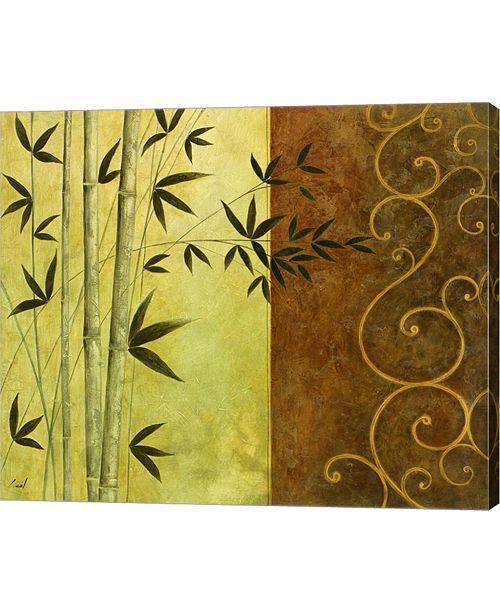 "Metaverse Metaverse Bamboo I by Pablo Esteban Canvas Art, 28.75"" x 24"""