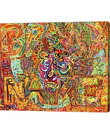 "Metaverse Brand Name by Josh Byer Canvas Art, 28"" x 24"""