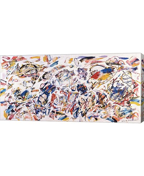 "Metaverse Arie Colorate, 1993 by Nino Mustica Canvas Art, 32"" x 16"""