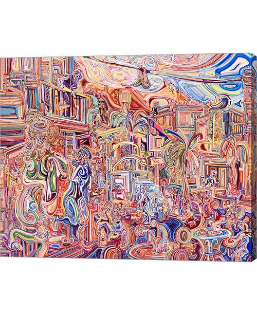 """Metaverse Simon Says by Josh Byer Canvas Art, 28.75"""" x 24"""""""