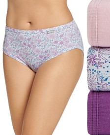 Jockey Elance Hipster Underwear 3 Pack 1482 1488, also available in Plus sizes