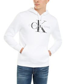 Calvin Klein Jeans Men's Monogram Logo Hoodie