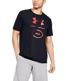Under Armour Men's Football Stack T-Shirt