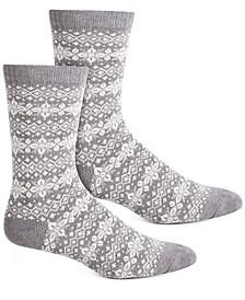 Women's Fairisle Boot Socks