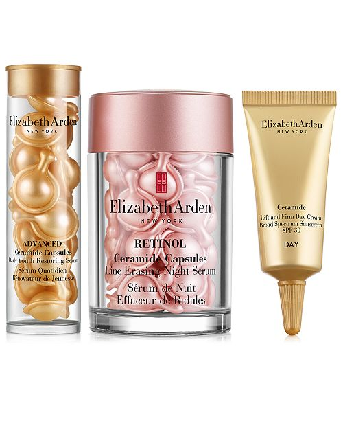Elizabeth Arden 3-Pc. Retinol Ceramide Skincare Gift Set, Created For Macy's