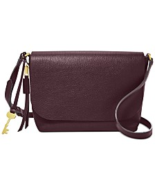 Fossil Maya Leather Crossbody