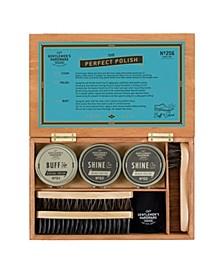 Shoe Shine Kit Cigar Box