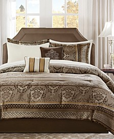 Bellagio California King 9-Pc. Comforter Set