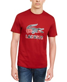 Lacoste Men's Big Croc Graphic T-Shirt