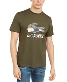 Lacoste Men's Big Croc Graphic T-Shirt