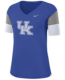 Women's Kentucky Wildcats Breathe V-Neck T-Shirt