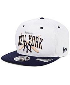 New York Yankees Retro Bats 9FIFTY Cap