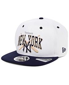 New Era New York Yankees Retro Bats 9FIFTY Cap