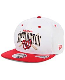 Washington Nationals Retro Bats 9FIFTY Cap