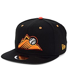 New Era Colorado Rockies Orange Pop 9FIFTY Cap
