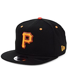New Era Pittsburgh Pirates Orange Pop 9FIFTY Cap
