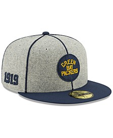 Green Bay Packers On-Field Sideline Home 59FIFTY-FITTED Cap