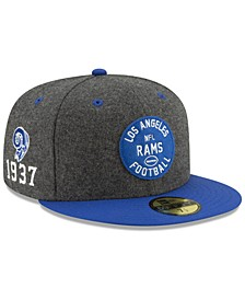 Los Angeles Rams On-Field Sideline Home 59FIFTY-FITTED Cap