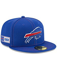 Buffalo Bills On-Field Sideline Road 59FIFTY-FITTED Cap