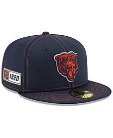 Chicago Bears On-Field Sideline Road 59FIFTY-FITTED Cap