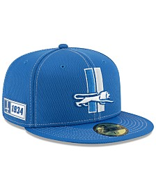 New Era Detroit Lions On-Field Sideline Road 59FIFTY-FITTED Cap