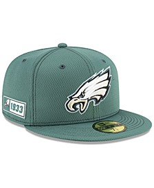 Philadelphia Eagles On-Field Sideline Road 59FIFTY-FITTED Cap