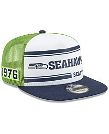 New Era Seattle Seahawks On-Field Sideline Home 9FIFTY Cap