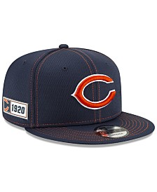 New Era Chicago Bears On-Field Sideline Road 9FIFTY Cap