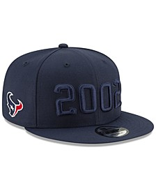 Houston Texans On-Field Alt Collection 9FIFTY Snapback Cap