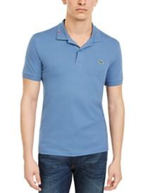 Lacoste Rainbow Logo Slim-Fit Polo Shirt