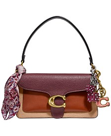 COACH Colorblock Tabby Shoulder Bag 26