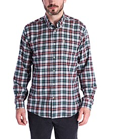 Men's Lund Classic-Fit Thermo-Tech Quick-Dry Plaid Shirt