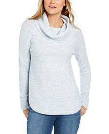 Petite Cowlneck Sweater, Created For Macy's