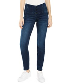 Sound/Style Ab Slimmer Wide-Waist Jeggings