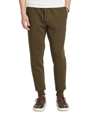 Polo Ralph Lauren Men's Big & Tall Double-Knit Joggers In Company Olive
