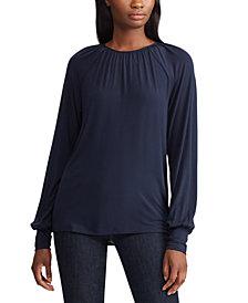 Lauren Ralph Lauren Long-Sleeve Jersey-Knit Top