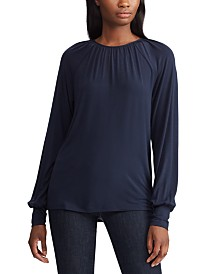 Lauren Ralph Lauren Long-Sleeve Jersey-Knit Top