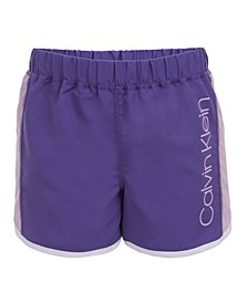 Big Girls Colorblocked Logo Shorts