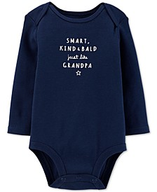 Baby Boys Grandpa Cotton Bodysuit