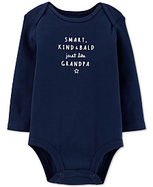 Carter's Baby Boys Grandpa Cotton Bodysuit